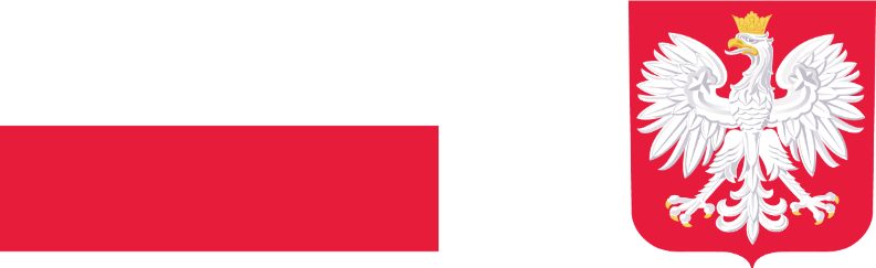 flaga Polski i godło Polski